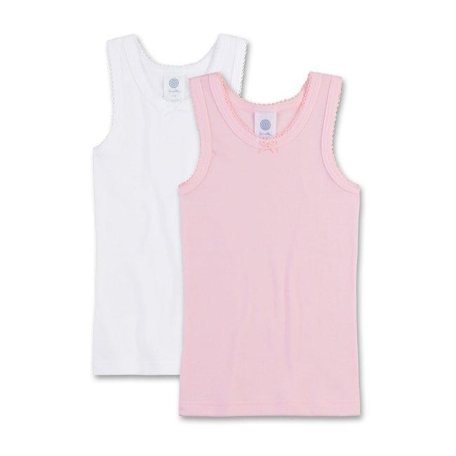 SANETTA Girls' undershirt (double pack)