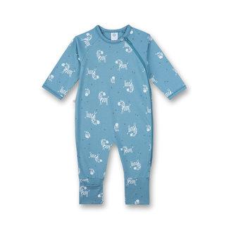 SANETTA Boys jumpsuit blue zebra