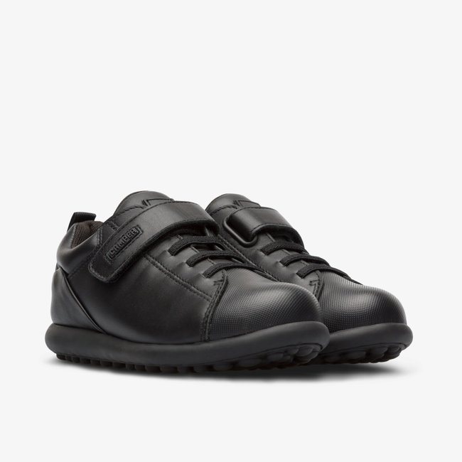 CAMPER Pelotas Black Sneaker School Shoes