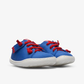 CAMPER Peu blue shoe for kids