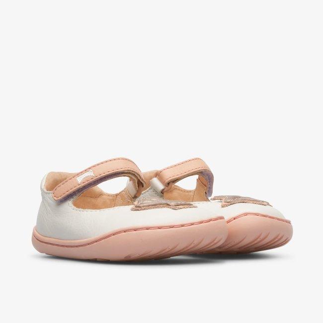 CAMPER White TWINS sandal for girls