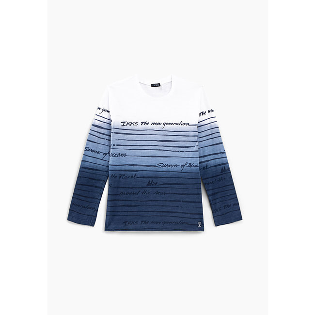 IKKS BOYS' DEEP DYE SAILOR T-SHIRT