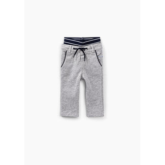 IKKS Baby boys' medium grey marl double waistband trousers