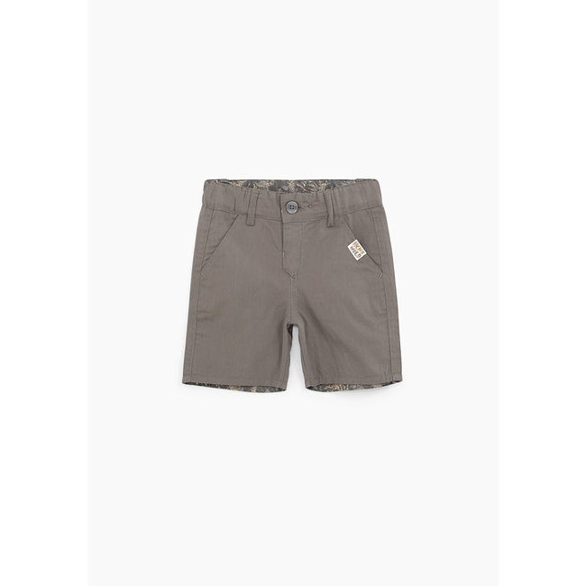 IKKS Baby boys' bronze and camouflage reversible Bermudas
