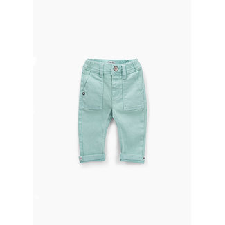 IKKS Baby boys' celadon jeans with elasticated waist