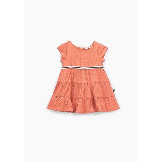 IKKS Baby girls' blush cut thread Jacquard dress