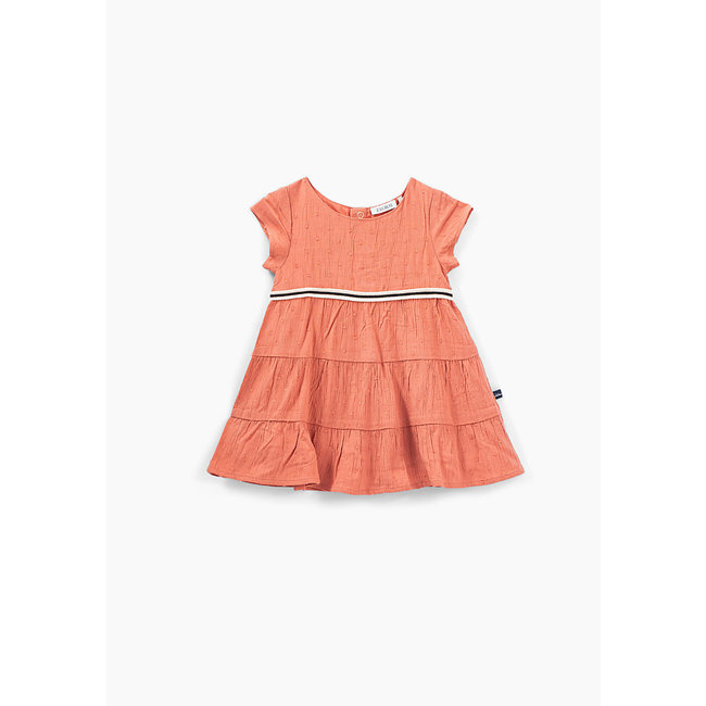 IKKS Baby girls' blush cut thread Jacquard dress