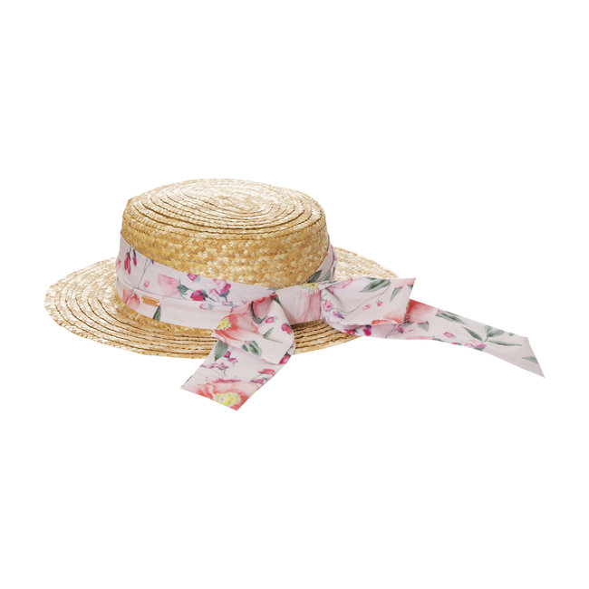 PATACHOU PINK GARDEN TRADITIONAL HAT