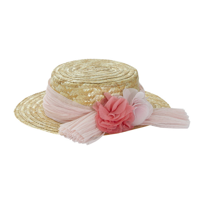 PATACHOU PALE PINK TRADITIONAL HAT