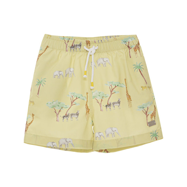 PATACHOU GREEN PRINT SHORTS