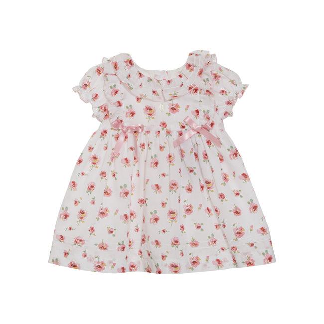 PATACHOU BABY GIRL DRESS FLOWERS