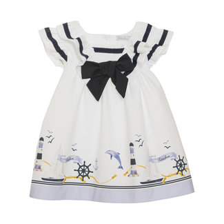 PATACHOU NAUTICAL PRINT DRESS