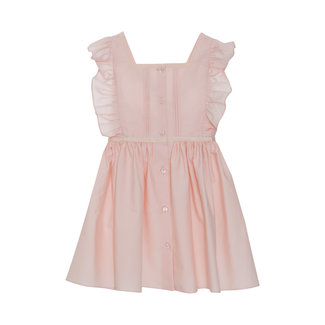 PATACHOU PALE PINK POPELINE DRESS