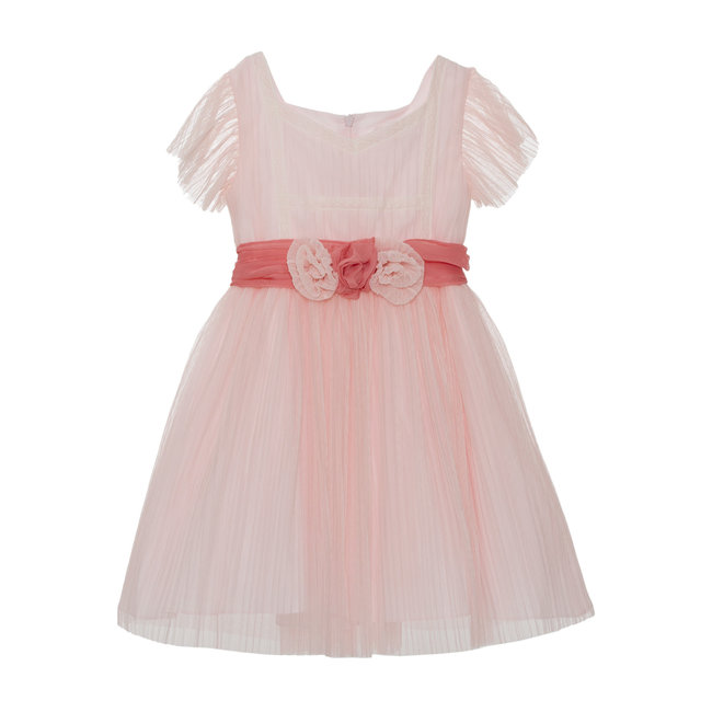 PATACHOU PINK TULLE DRESS