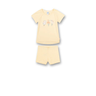 SANETTA Girls' pajamas yellow Sweet Summer