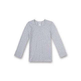 SANETTA Boys' grey undershirt long sleeves