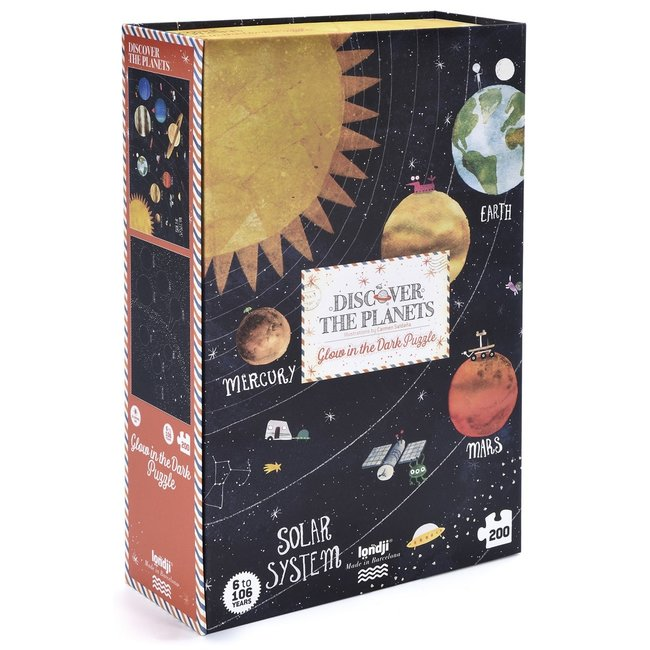 Puzzle - Discover the Planets Glow-in-the-Dark Puzzle