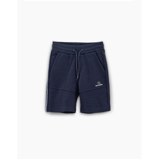 IKKS BOYS' NAVY KNIT BERMUDAS WITH SIDE BAND