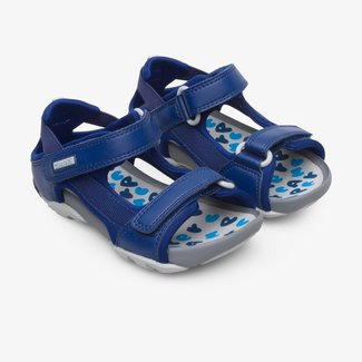 CAMPER Ous sandals with with Velcro straps for boys  (Navy)