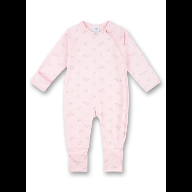 SANETTA Girls' Overall Romper Sorbet  pink Swan Lake