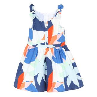 CATIMINI Girl's printed percale dress