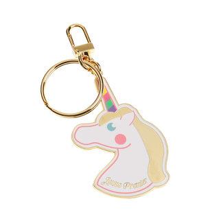 JEUNE PREMIER Keychain Unicorn Shiny Gold