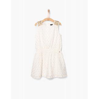 IKKS ROBE SM WHITE DRESS