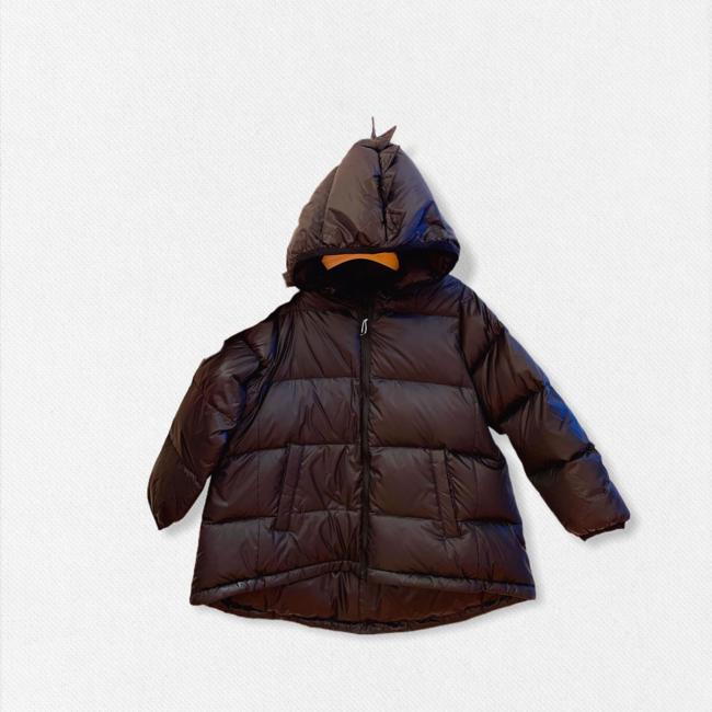 CATIMINI Boy's black long down jacket