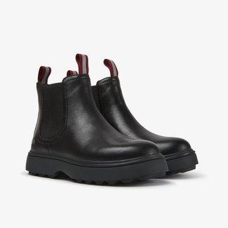 CAMPER Norte black leather ankle boots
