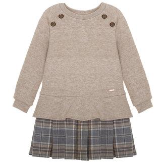 PATACHOU Girl Camel Beige Knit Dress