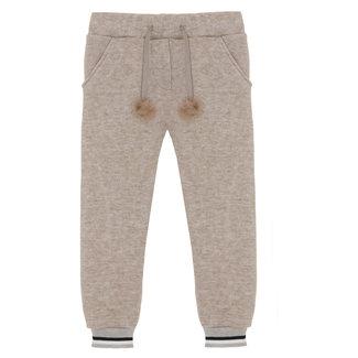 PATACHOU Girl Camel Beige Knit Pants