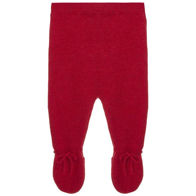 PATACHOU Newborn Knit Red Pants