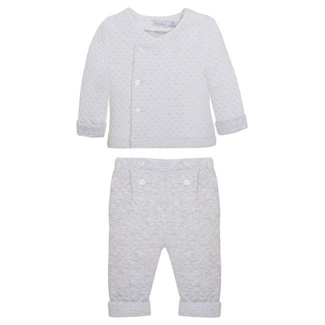 PATACHOU Newborn Grey Grey Set