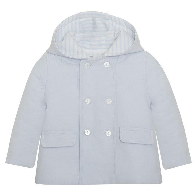 PATACHOU Newborn Blue Blue Coat