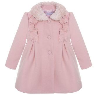 PATACHOU Mini Girl Pale Pink Pale Pink Coat