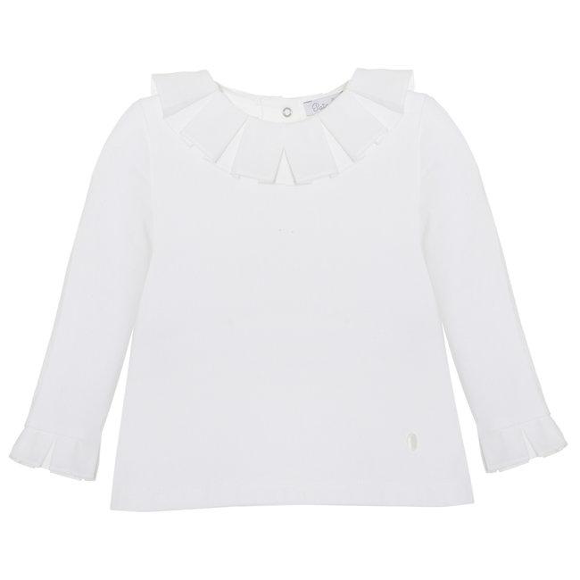 PATACHOU Mini Girl Pale Pink Off White T-Shirt