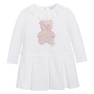 PATACHOU Mini Girl Pale Pink Off White Dress