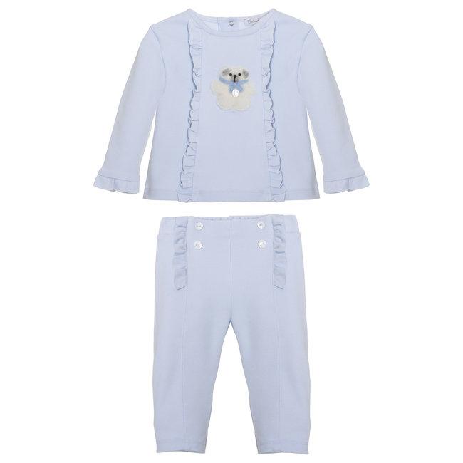 PATACHOU Mini Girl Blue Blue Set