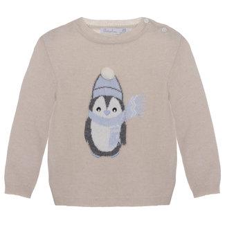 PATACHOU Mini Boy Beige Sweater