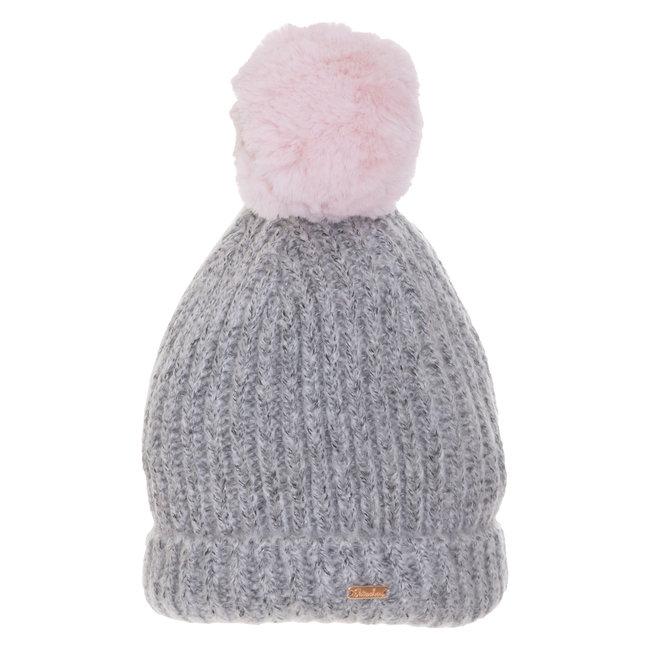 PATACHOU Gril Pink Melange Grey Hat