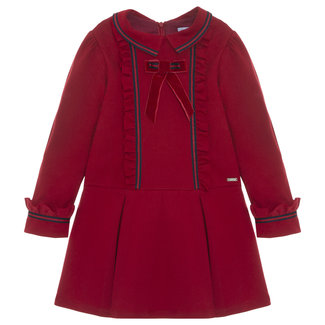 PATACHOU Girl Tartan Red Interlock Dress
