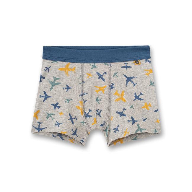 SANETTA Boys' hip shorts gray-melange tarpaulin