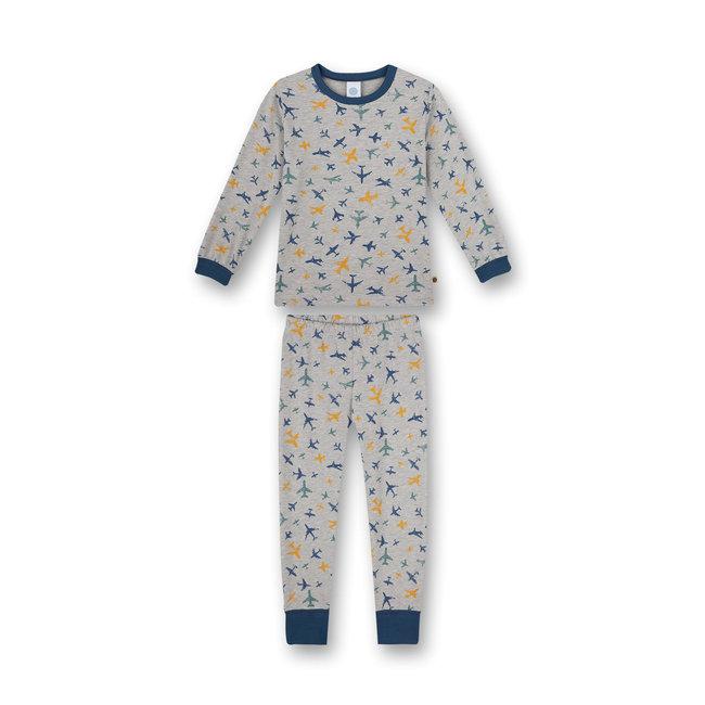 SANETTA Boys' pajamas gray melange