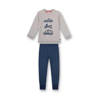SANETTA Boys' pajamas gray melange Police