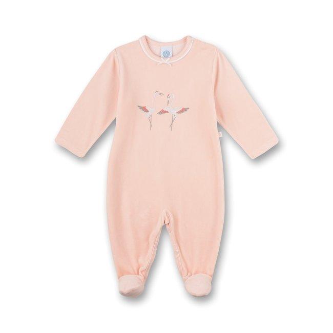 SANETTA Girls Jump Suit Pink Crane