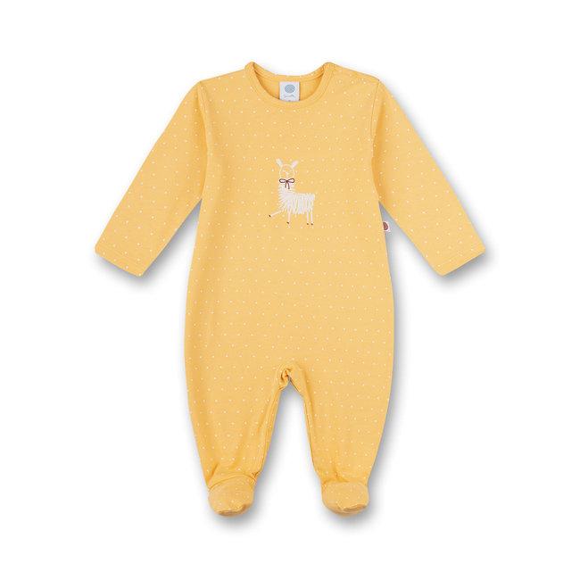 SANETTA Girls jumpsuit yellow Llamalicious