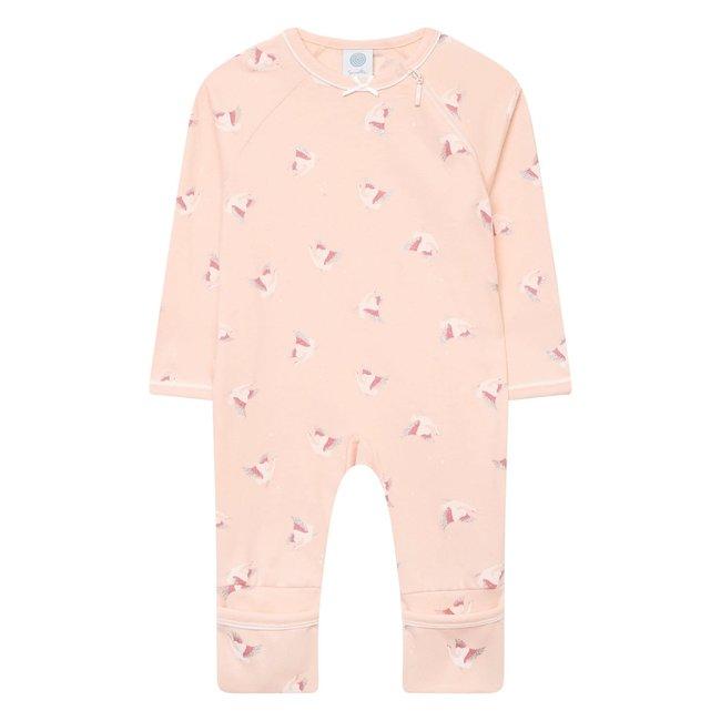 SANETTA Girls O Overall Pink Crane