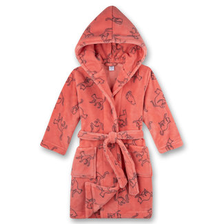 SANETTA Girls' pink bathrobe
