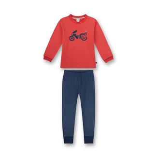 SANETTA Police red pajamas for boys