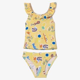 CATIMINI Girl two-piece tankini swimsuit